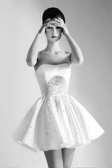 The white dress! #whitedress