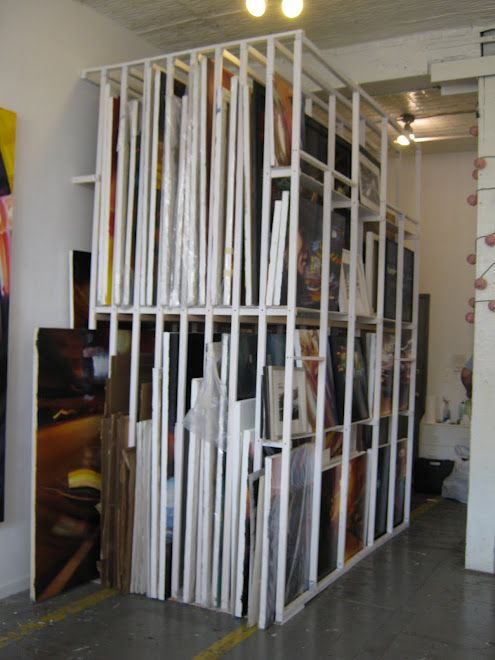 30 best images about studio revamp on pinterest - Storage options for small spaces paint ...