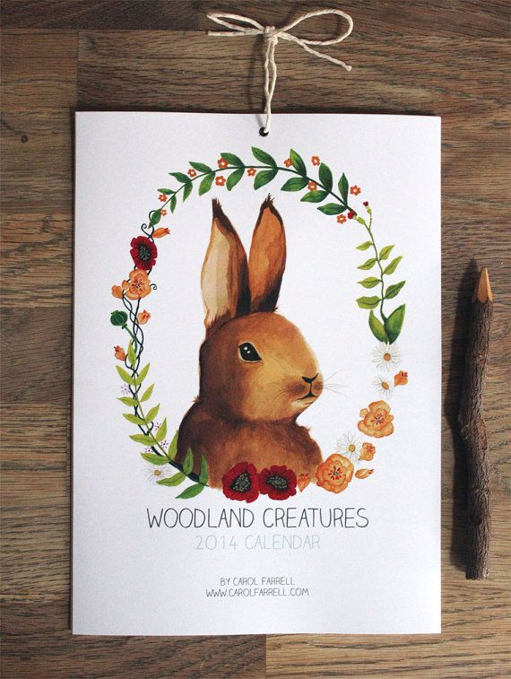 Reserved listing for Caitlin  Woodland Creatures by CarolFarrell