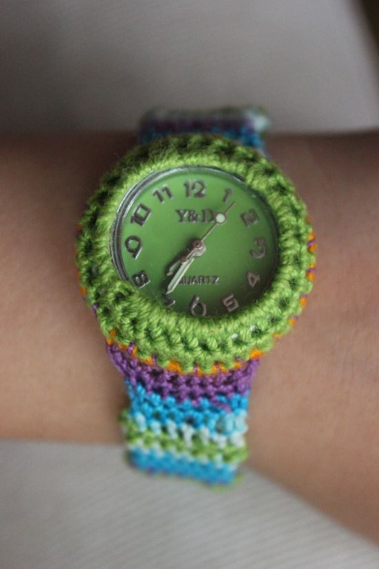 Today I made - 6 months ago Mademoiselle Chevreuil made a cochet Watch.