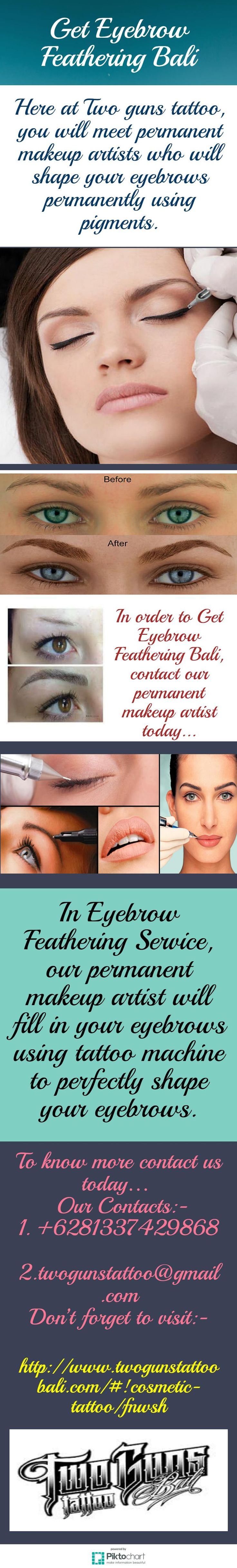 In Eyebrow Feathering Service, our permanent makeup artists will apply pigment to eyebrows which will completely fill in brows. In order to Get Eyebrow Feathering Bali, call us today. see more at: http://www.twogunstattoobali.com/#!cosmetic-tattoo/fnwsh