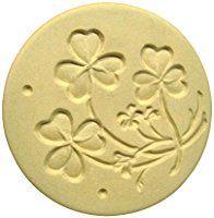 Brown Bag Shamrocks Cookie Stamp - British Isle Series