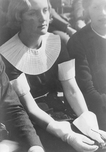 Unity Mitford at the Nuremberg Rally - september 1935 (via juliamuller1889)