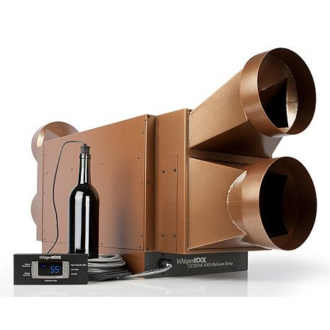 WhisperKOOL Platinum Extreme 5000ti Wine Cellar Cooling Unit Ducted (Max Room Size = 1000 cu ft) at Wine Enthusiast - $3,855.00