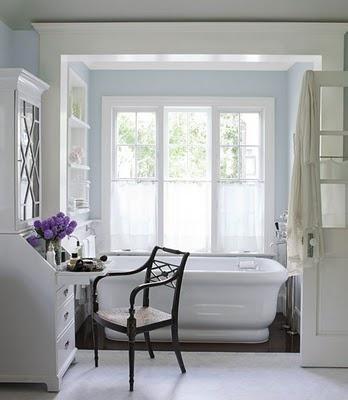 Ikea secretary desk, paint white, cut out doors, insert leaded glass. Impressive ikea hack