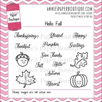 Planner Stamps - Hello Fall. We designed this fun little set because we love Fall. It's the perfect size for planners, but versatile enough for crafters and scrapbookers, too. We hope you love it as much as we do.