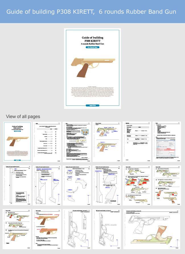 37 Awesome Disintegrator Rubber Band Gun Instructions
