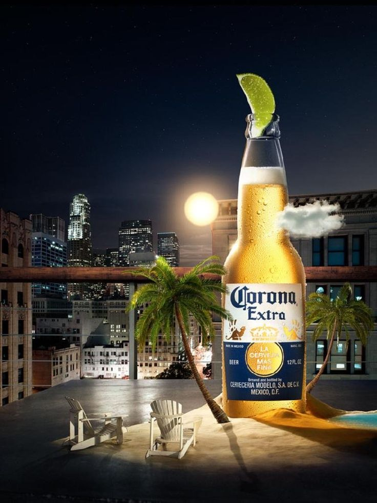 """City"" Print Ad for Corona Beer by Cramer-krasselt"