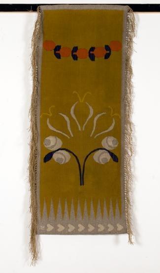 A rug designed by Karol Tichy in 1901