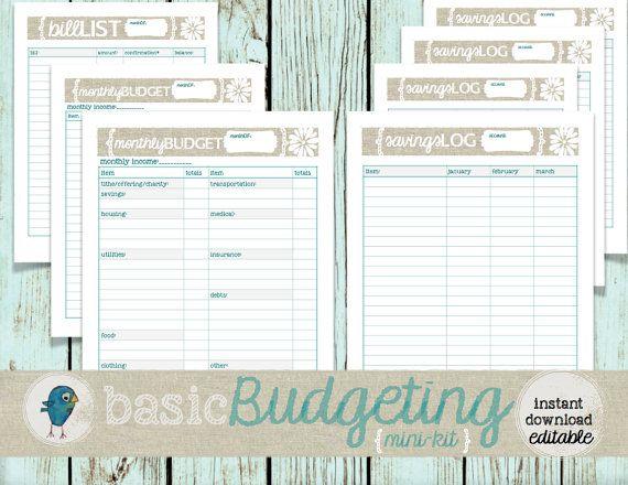 The 25+ best Budget planner worksheet ideas on Pinterest Budget - business budget template