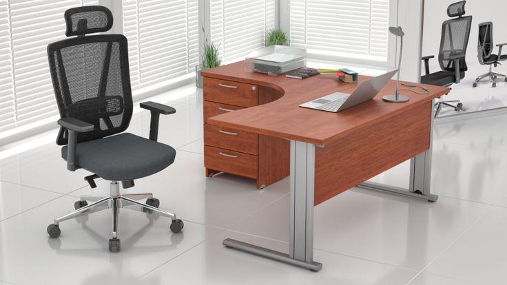 MEBLE BIUROWE EXPRESS biurka narożne dostępne od ręki