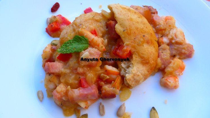 crawfish gravy - salsa de cangrejos o gambas