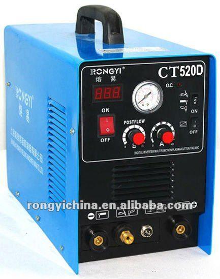 CT520D Dual Voltage DC 110V & 220V TIG/MMA/CUT Welder