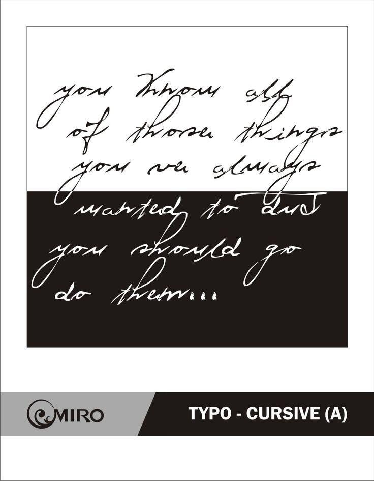 Typo Cursive (A) Cursive, Typo, Arabic calligraphy