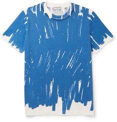 BalenciagaSlim-Fit Printed Cotton-Jersey T-Shirt