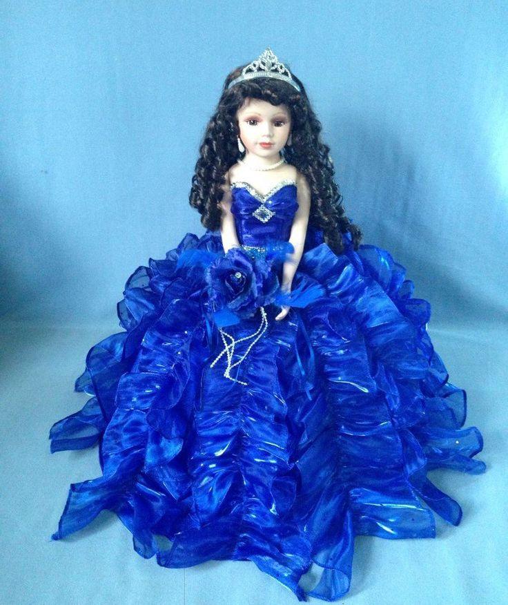 Jmisa 18″ Umbrella Porcelain Dolls Quince Anos Lilac
