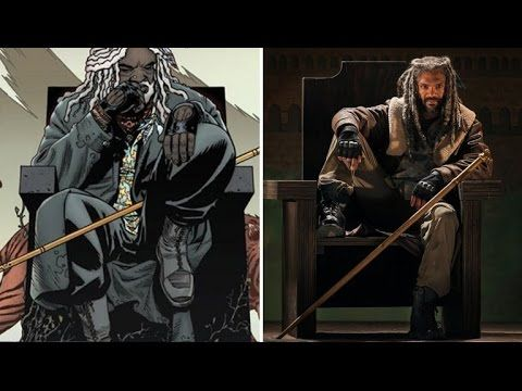 walking Dead comic v/s television  PERSONAJES¡¡¡¡