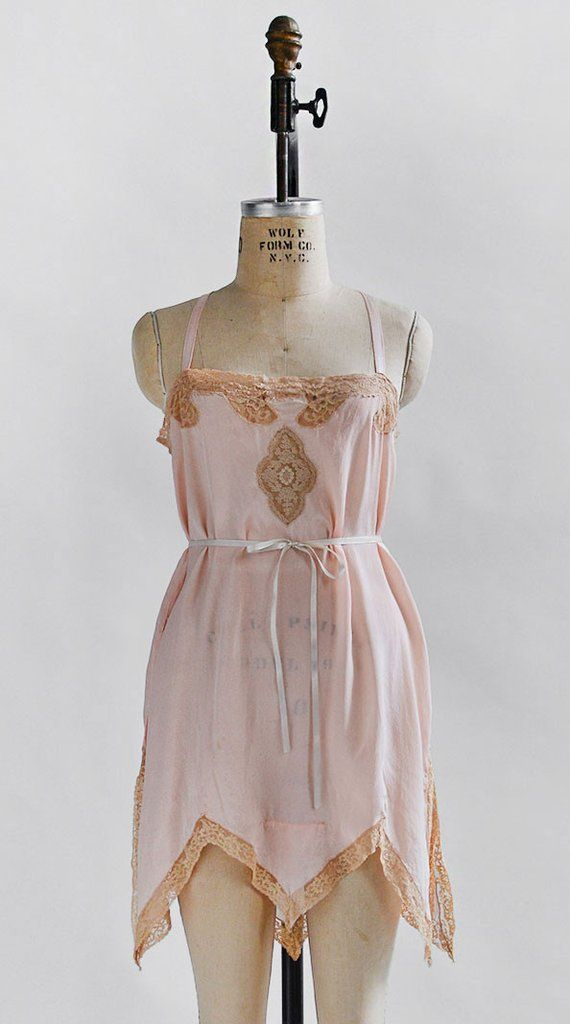 Enchanted Days Step In / vintage 1920s lingerie / 20s 30s lingerie