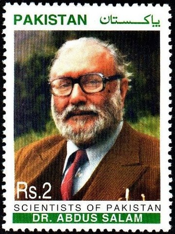 Dr. Abdus Salam, the first Nobel Prize winner from Pakistan.