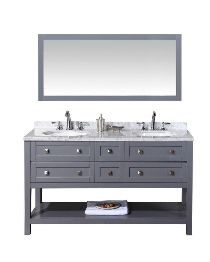 Bathroom Vanities Double Sink 60 Inches best 25+ 60 inch vanity ideas on pinterest | craftsman makeup