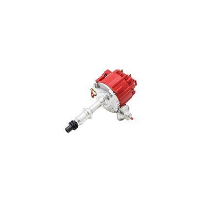 Top Street Performance JM6504R HEI Distributor with Red Cap (50K Volt Coil)