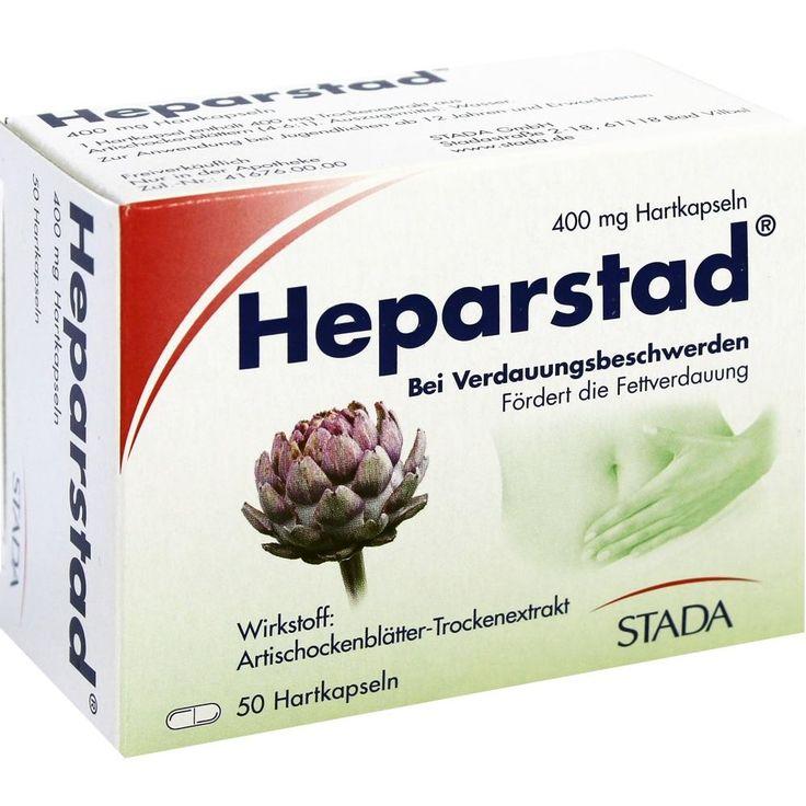 Marvelous HEPARSTAD Artischocken Kapseln Packungsinhalt St Hartkapseln PZN Hersteller STADAvita GmbH