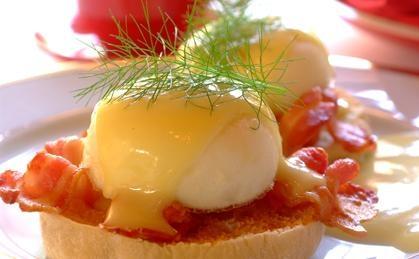 Easy Eggs, Benedict Style