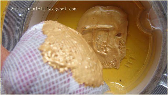 Dit Tutorial lace stamp Jak zrobić pieczątkę ? koronkowa pieczątka stempel