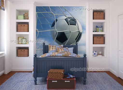 Fotobehang Sport, Canvas Printen & Posters Voetbal Goal