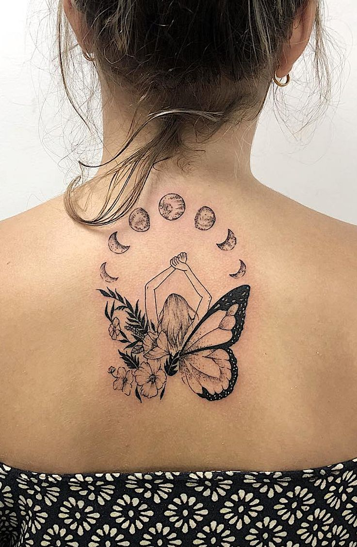 6 Tattoo Designs To Get Over Heartbreak In 2018. Who said getting a tattoo to mark a difficult moment in life wasn't the best idea? The phoenix, a compass, a butterfly, the phases of the moon, the tree of life, and wings are deep symbols of strength and growth.