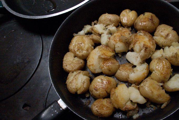 Lori's Skillet Smashed Potatoes | Recipe