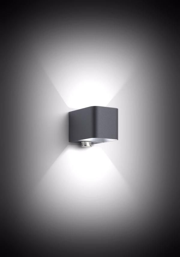 Intro Control Led Wall Light Lighting Exterior Motion Detector And Ranges