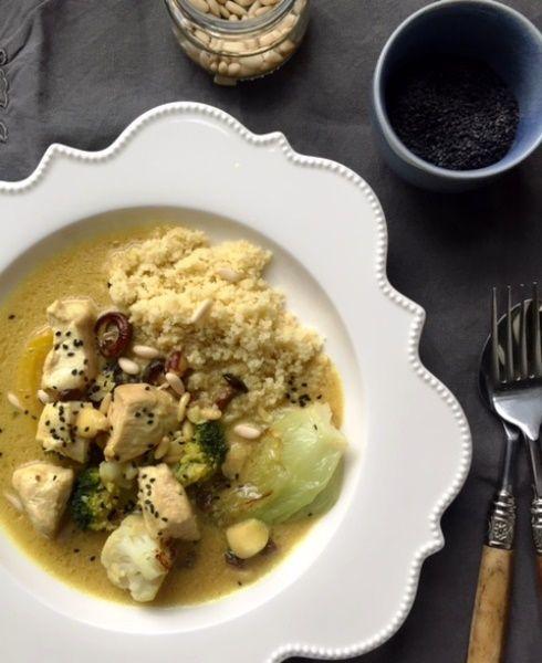 Curry di pollo e verdure - Csaba dalla Zorza