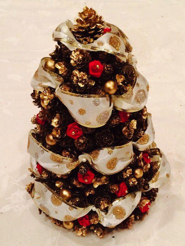 NapadyNavody.sk | 13 jednoduchých ale kreatívnych vianočných ozdôb, ktoré si môžete vyrobiť zo šišiek