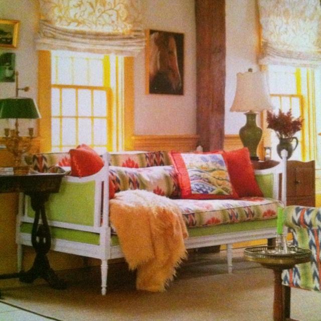 Love! Guest bedroom or nursery