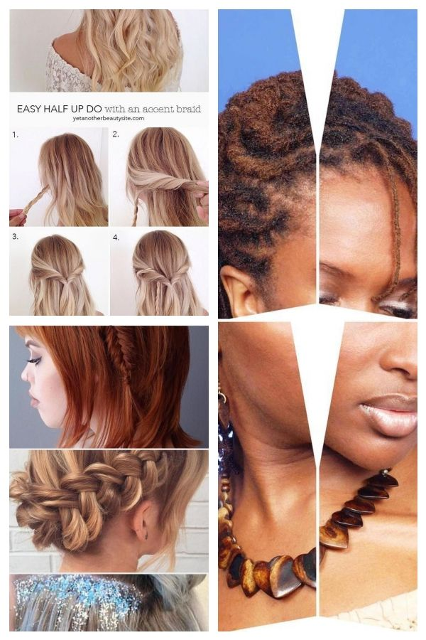 15 Easy Prom Hairstyles For Medium To Long Hair You Can Diy At Home With Step To Simple Prom Hair Hair Styles Long Hair Styles
