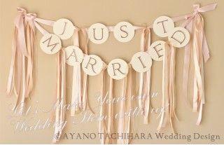 Match Color Garland by AYANO TACHIHARA Wedding Design