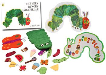 Hungry Caterpillar Activity Set