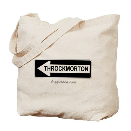 Throckmorton Sign Tote Bag on CafePress.com