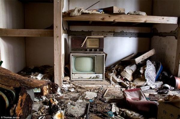 Imagenes De Sentirse Abandonado: Imágenes De Un Hotel Abandonado Hace 40
