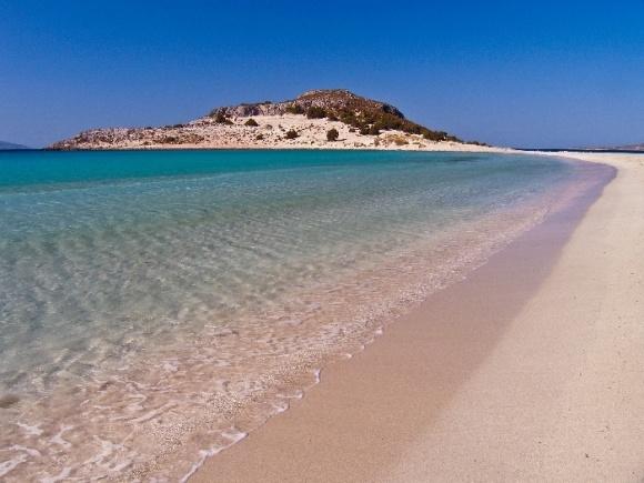 Simos beach, Elafonissos island. One of the best looking beaches in Greece