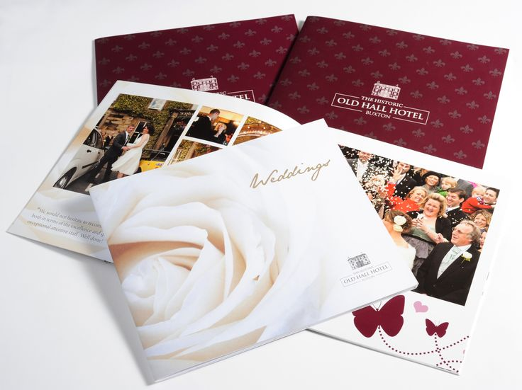 The Old Hall Hotel wedding brochure | Card | Pinterest | The old ...