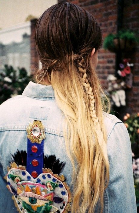 The embroidered denim jacket is too good.