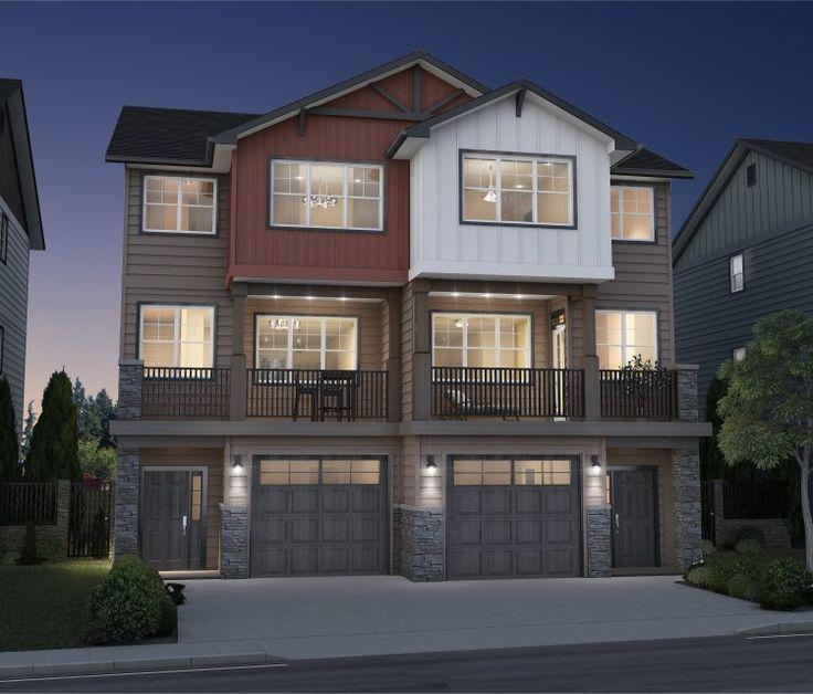 39 best single family homes images on pinterest duplex. Black Bedroom Furniture Sets. Home Design Ideas
