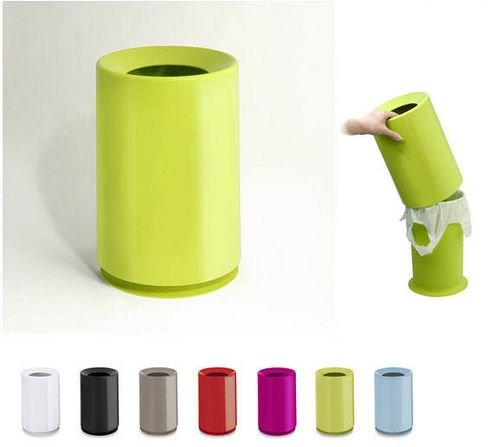 Keepthe plastic bag from falling into the gross bathroom trashcan? I'm there! From Ideaco