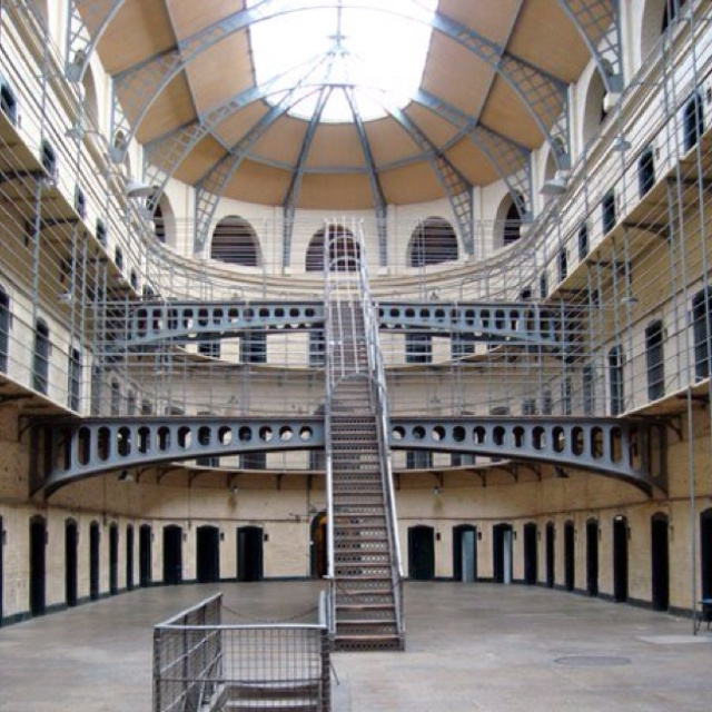 Haunted House York University: Love The Architecture In The Kilmainham Gaol.
