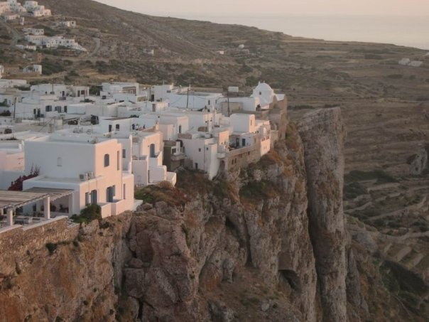 Folegandros, some people call it the new Santorini!