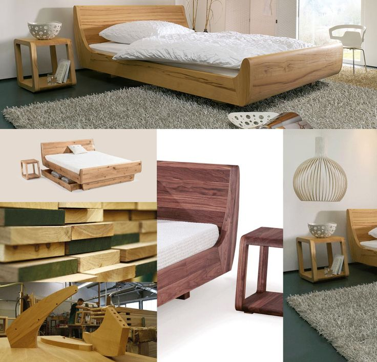 8 besten edle massivholzbetten solid wood beds bilder. Black Bedroom Furniture Sets. Home Design Ideas
