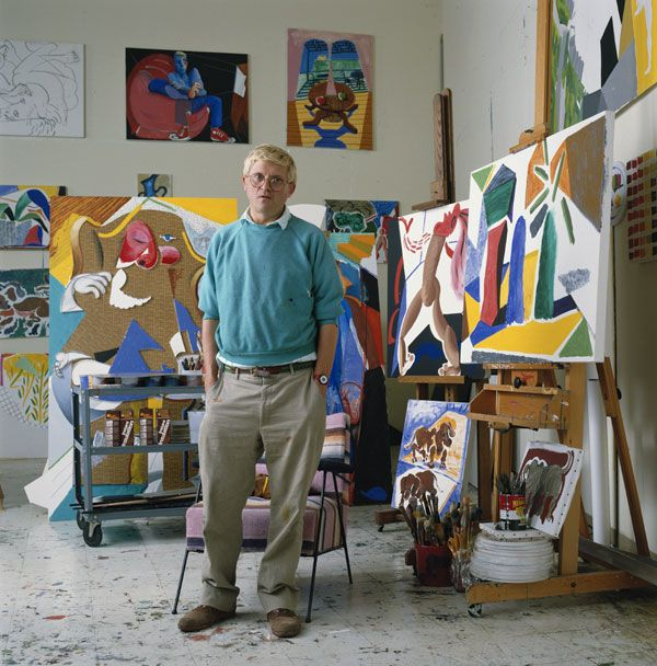 Glenda's Best of Britain: 2) Artist David Hockney