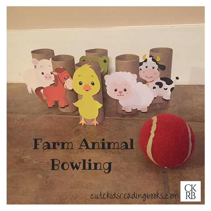 Farm animal bowling! So cute! Little Blue Truck — Cute Kids Reading Books